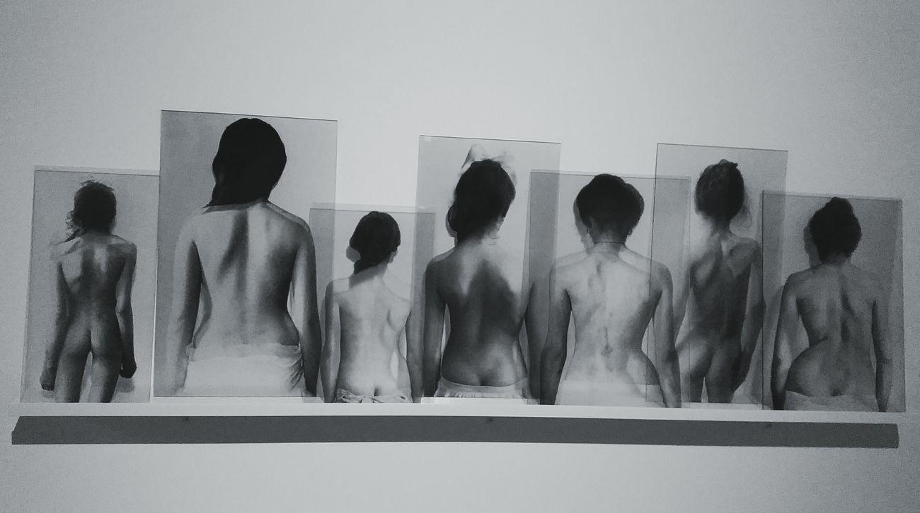 Museum Of Modern Art Pepole Black And White Women Gallery Art Krakow Poland