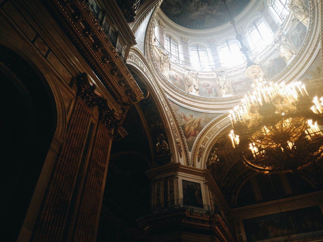 Saint-Petersburg Isaac's Cathedral Isaakievskiy Sobor Cathedral Candels Dark Amazing Architecture Russia россия Follow4follow Followme Like4like Likeforlike Hi! Hello World Taking Photos