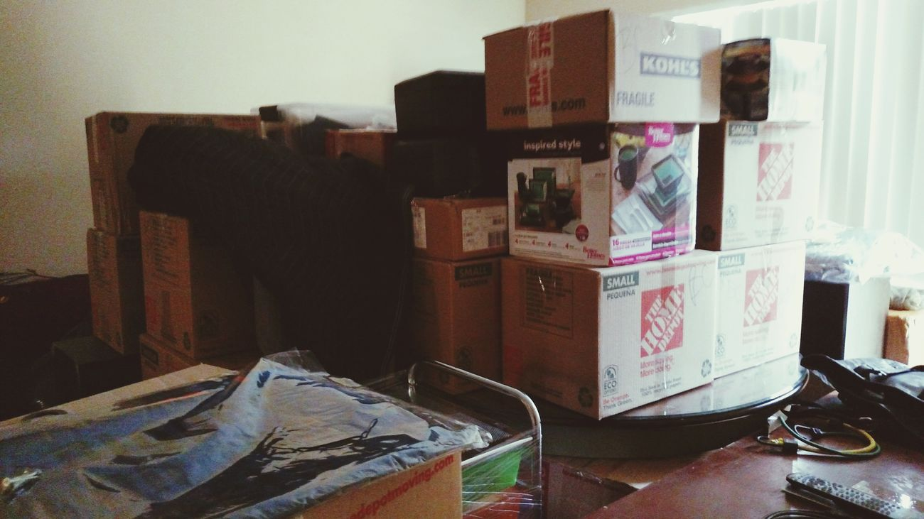 Moving Unpacking New Place New House Boxes So Much Stuff Too Much Crap Long Day Ahead Of Me