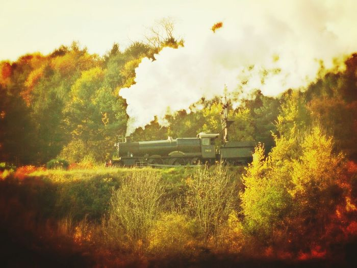 Where Ive Been Steam Trains Coutryside Beautiful Day