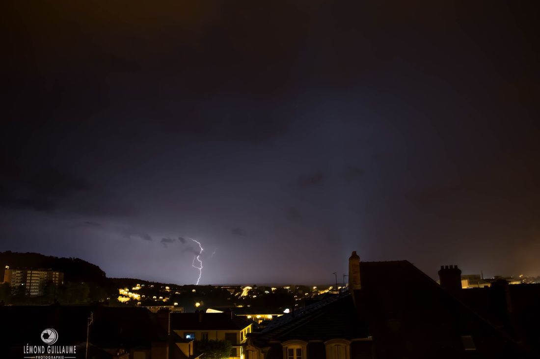 Tunderstruck House City Building Exterior Night Built Structure Residential Building Lightning Thunderstorm Architecture Dark Thunderstruck Storm Chasing Storm Illuminated Forked Lightning Nature Sky Storm Cloud Outdoors Natural Disaster Power In Nature