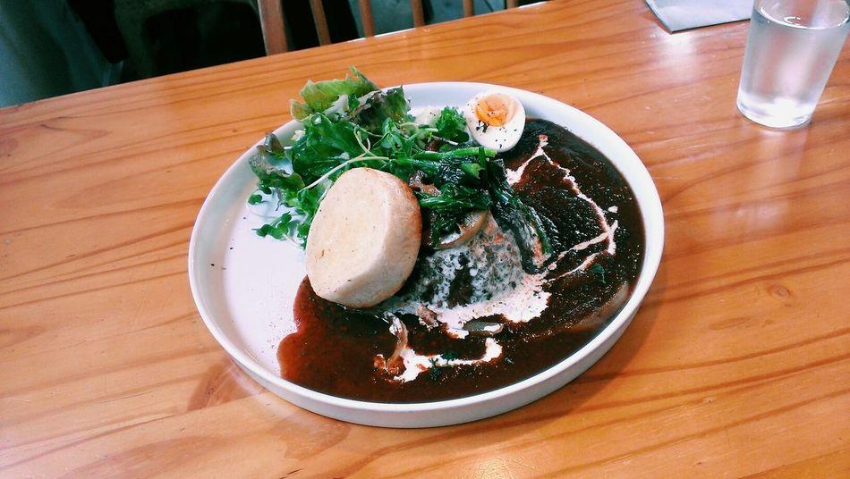 焦がし醤油の野菜カレー First Eyeem Photo