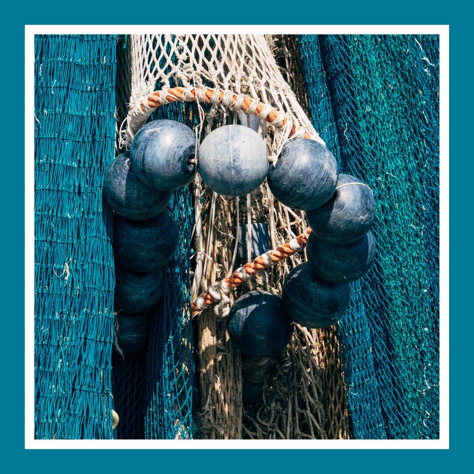 Abstract Bojen Buoys Fischernetz Fisher Net Net Still Still Life