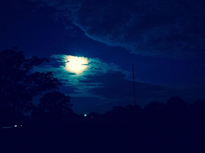 Early Mornings Sky Dark Beauty In Nature Night Moonlight