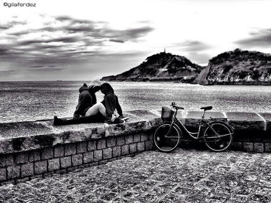 blackandwhite at Donosti by gilaferdez