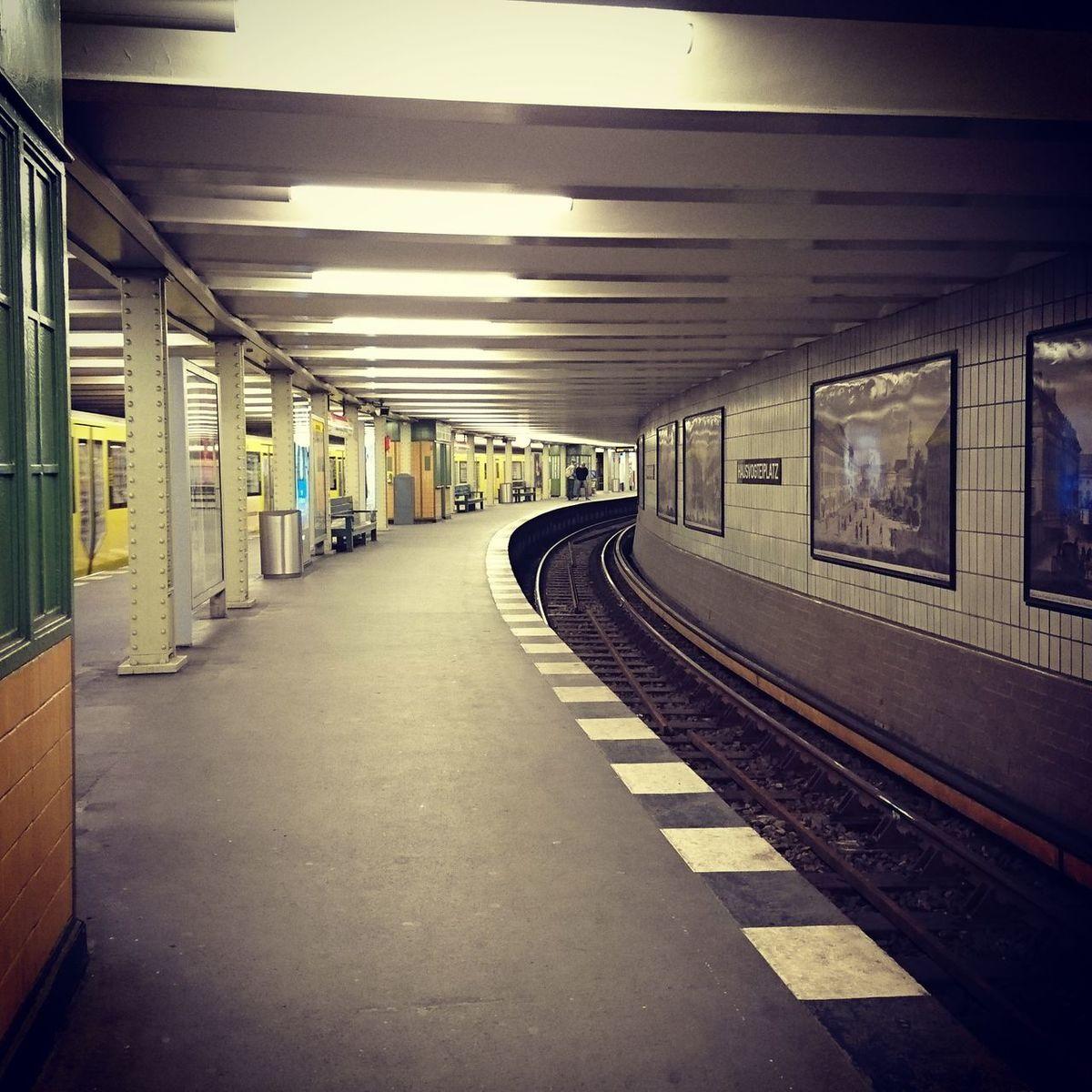 Station Station Platform Perspective Photography Train Station Metro Station