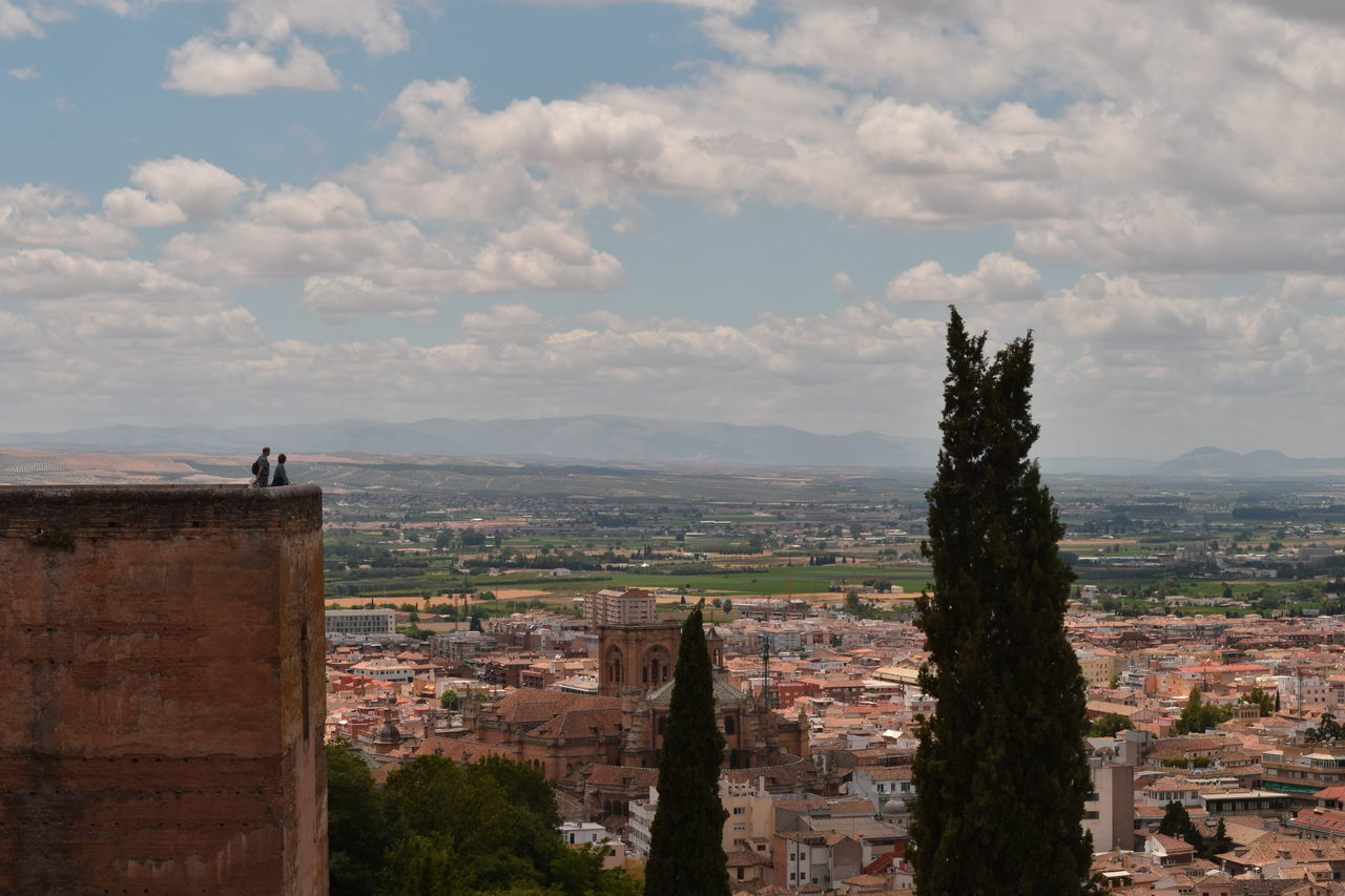 view on Granada from Alhambra castle Arabic Architecture Monument Alhambra Granada SPAIN Summer Vacation Finding New Frontiers Miles Away The Great Outdoors - 2017 EyeEm Awards Neighborhood Map