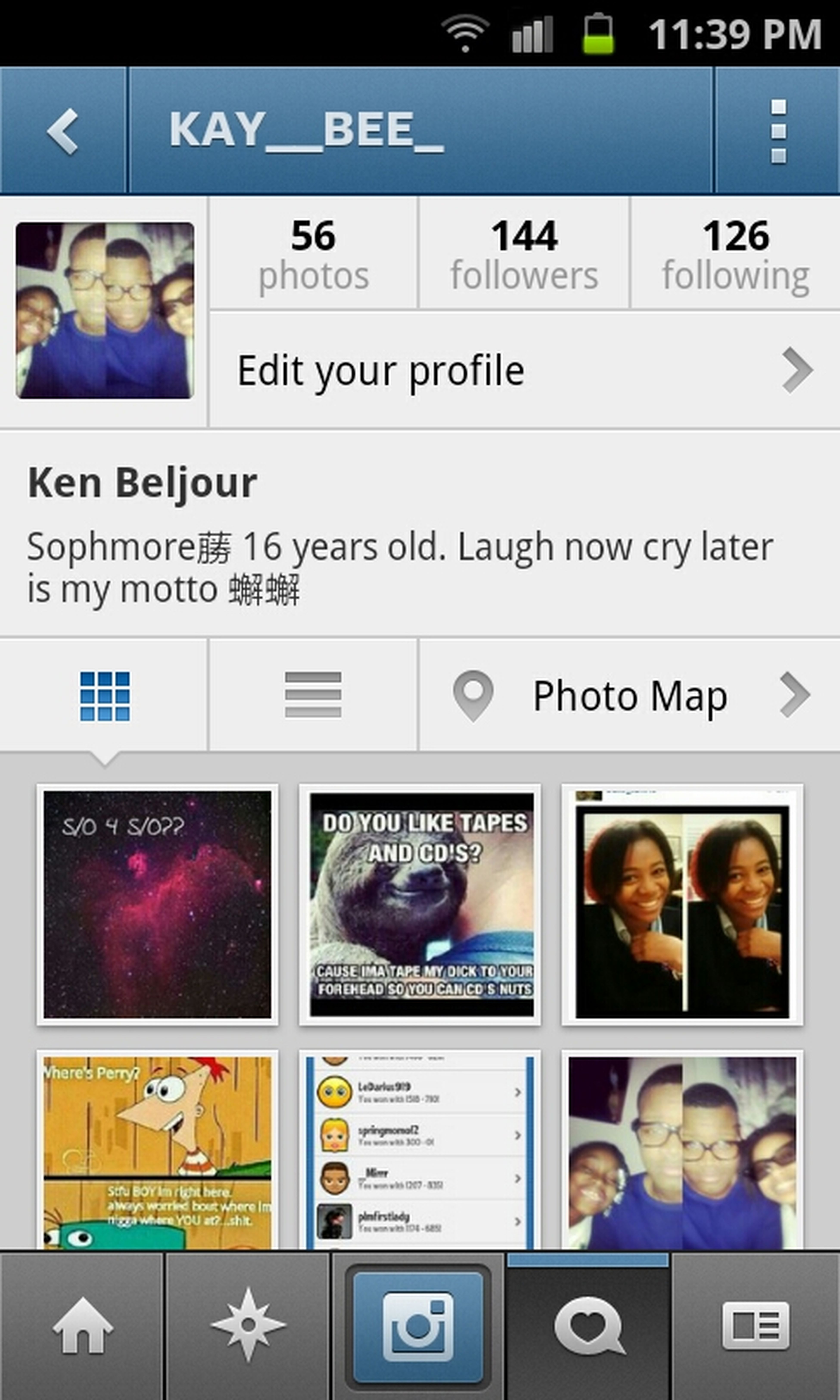 Can Y'all Follow My Instagram!@kay__bee_