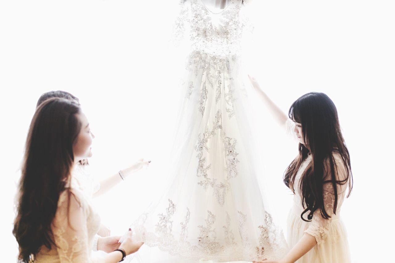 Friendship Indoors  Adult Wedding Love Wedding Dress