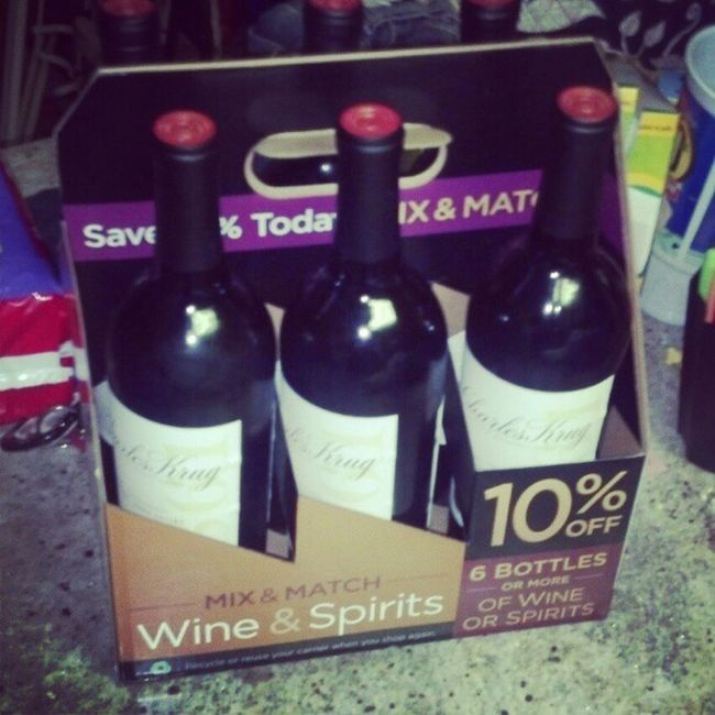@sofsyd wine in a box Hangover Krug Sixpack Fml