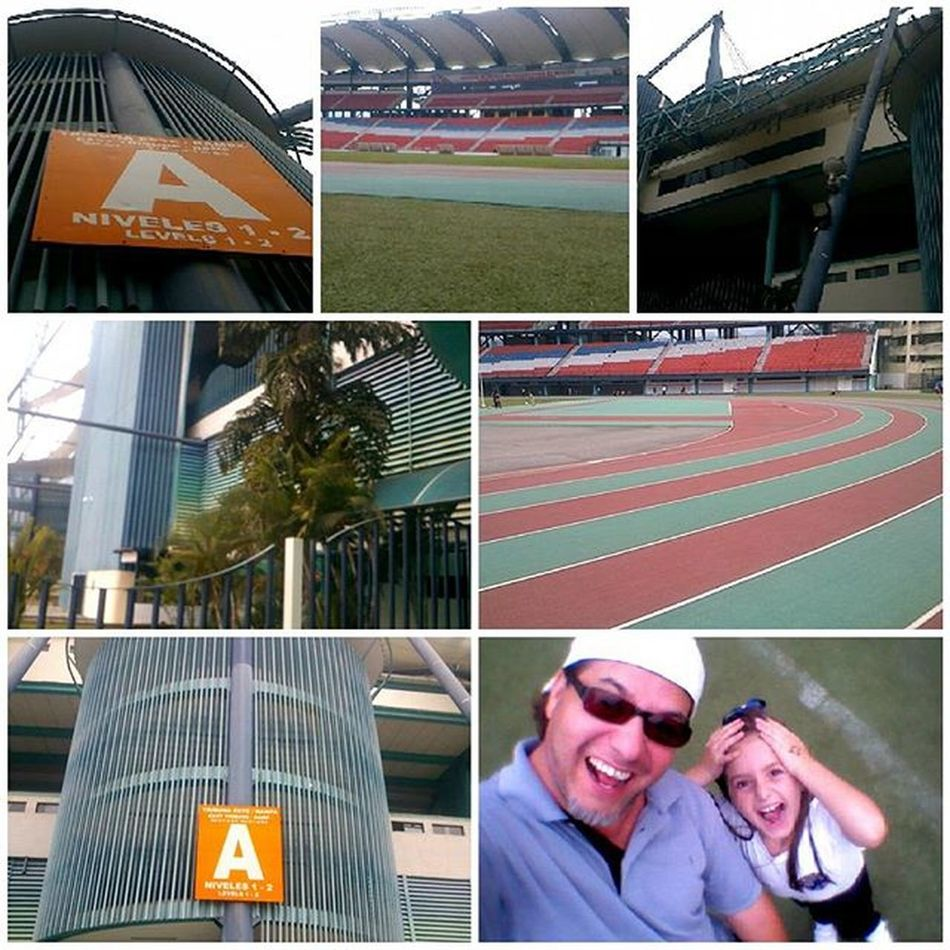 Stadium Metropolitano with my Little Friend Instamood Instamoments