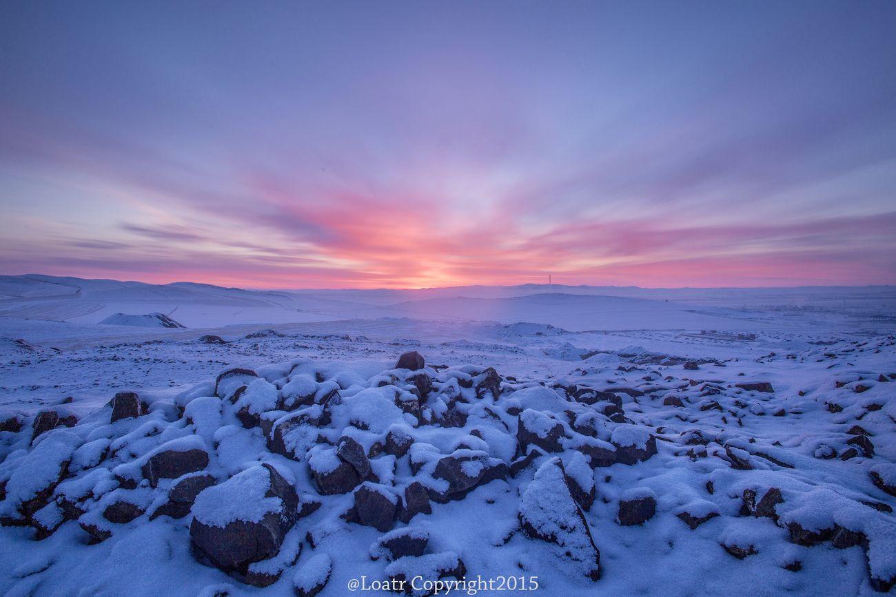 Before sun rising