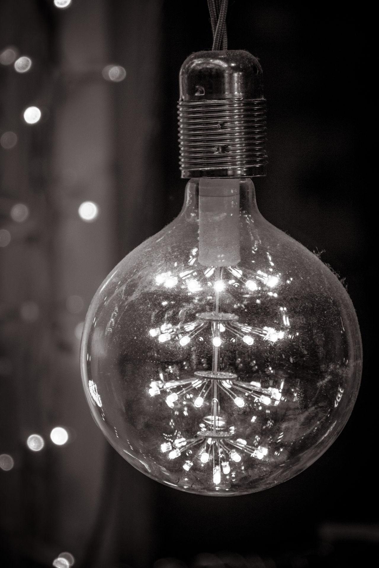 Lamp Lampe München Memories Schwarz & Weiß