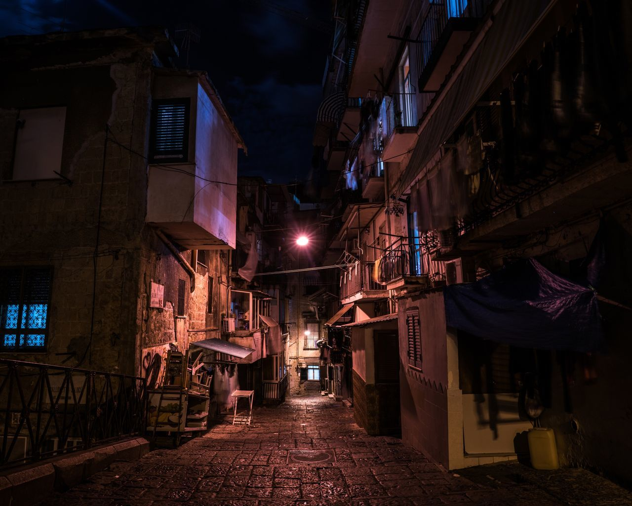Napoleatan Order. Night Illuminated No People Architecture Outdoors Dark Darkness And Light Darkness Travel Destinations Napoli Naples Italy❤️ Bella Italia Italy Italia City Nightphotography Night Lights Alley Dark Photography Messy Travel Traveling Europe You Want It Darker