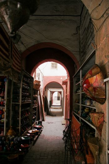 Arch Architecture Built Structure Day Indoors  No People Souks The Way Forward