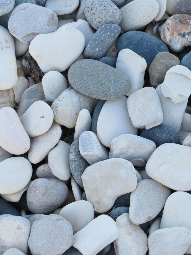 Background Beauty In Nature Close-up Day Detail Full Frame Natural Pattern Natural Pattern Nature No People Pebble Pebbles Repetition White Color