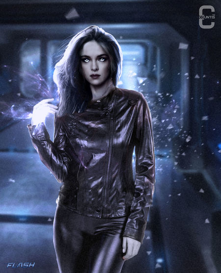 Danielle Panabaker as Killer Frost ArtWork Fanart Art Killerfrost Dccomics Theflash Theflashseries Theflashseason2