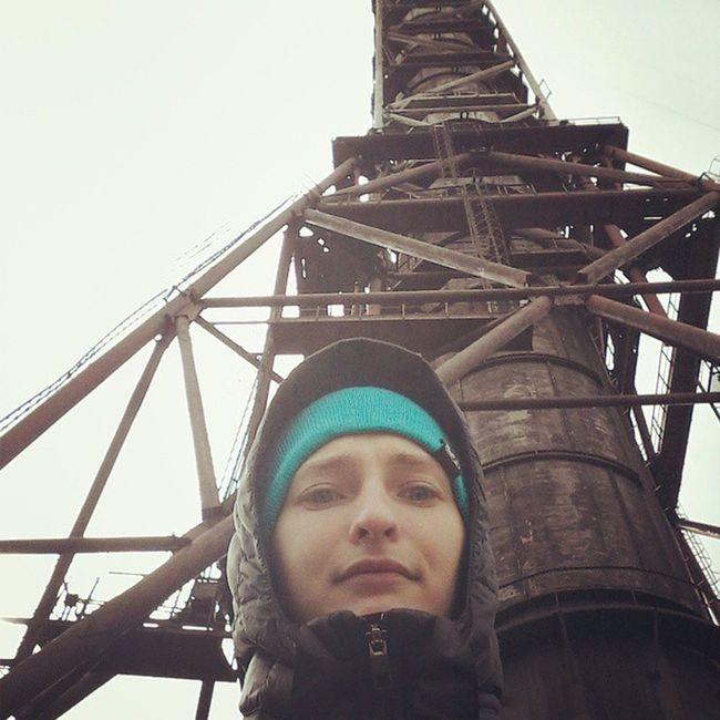А мы летали с самого верха с пострадавшим)))) ПСР вышка башня высота  полетстрах