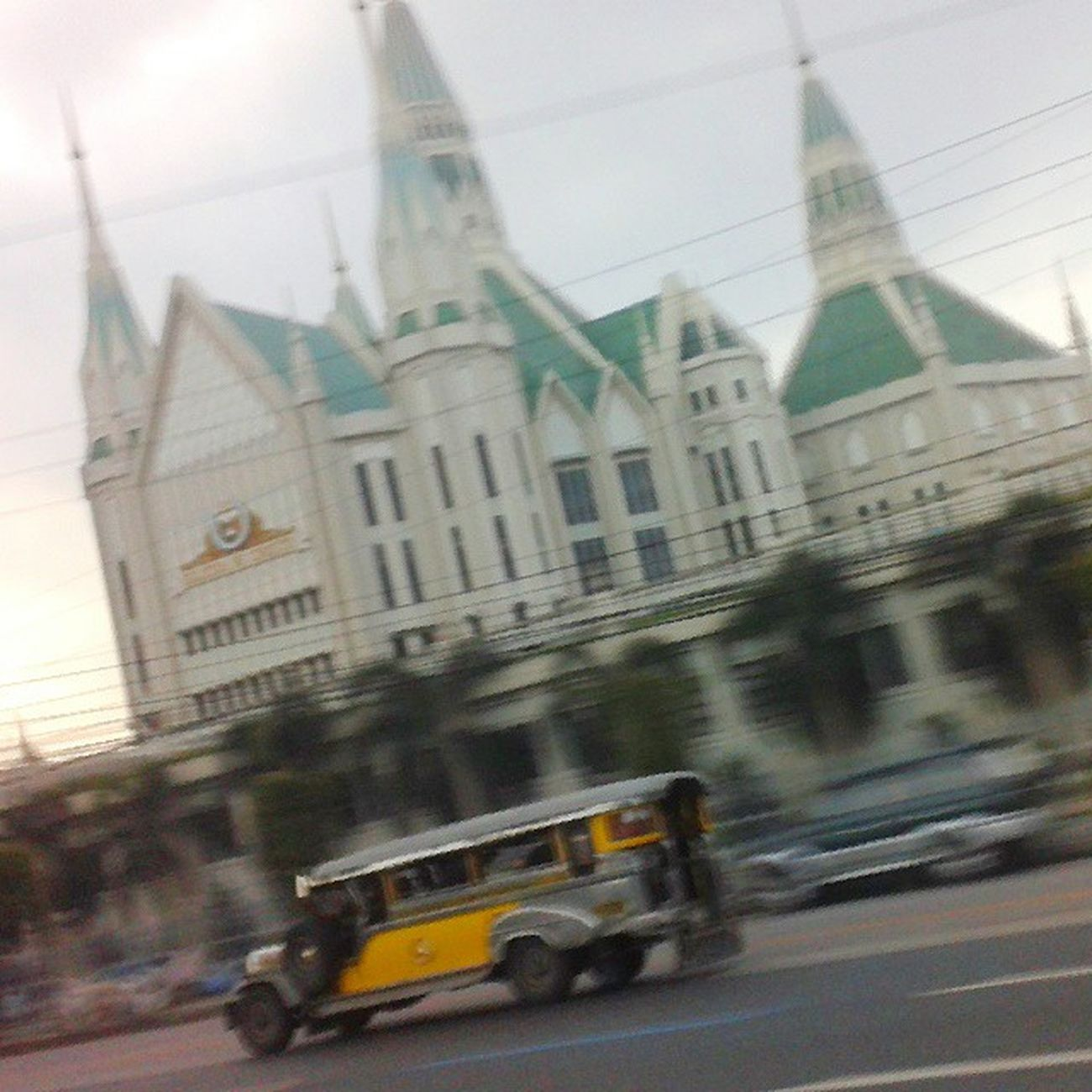 Only in the Philippines Jeep Inc Church Commonwealth