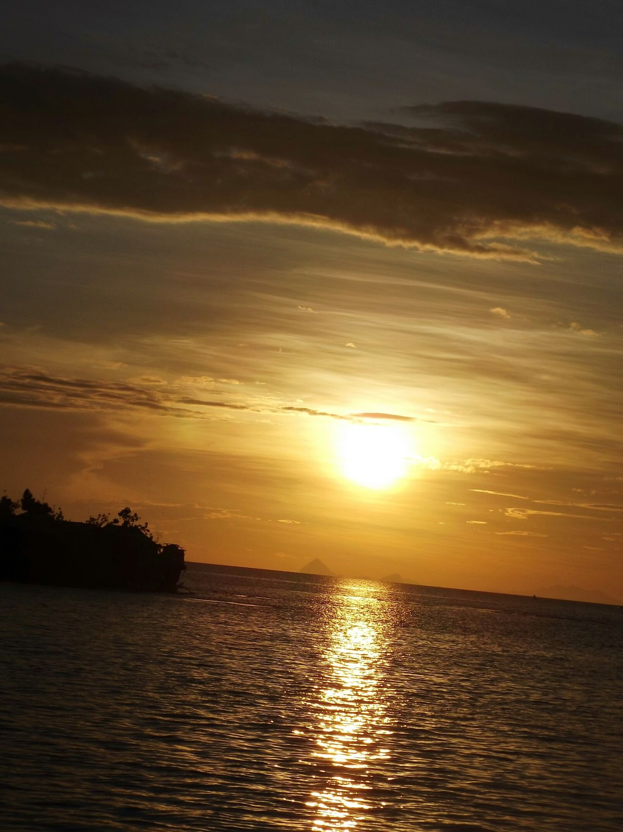 Eyeem Philippines Sunset #sun #clouds #skylovers #sky #nature #beautifulinnature #naturalbeauty #photography #landscape Sunsets Sunset_collection Sunset Lovers Sunset_universe Bantayan Island, Cebu FujiFilm Finepix S3400