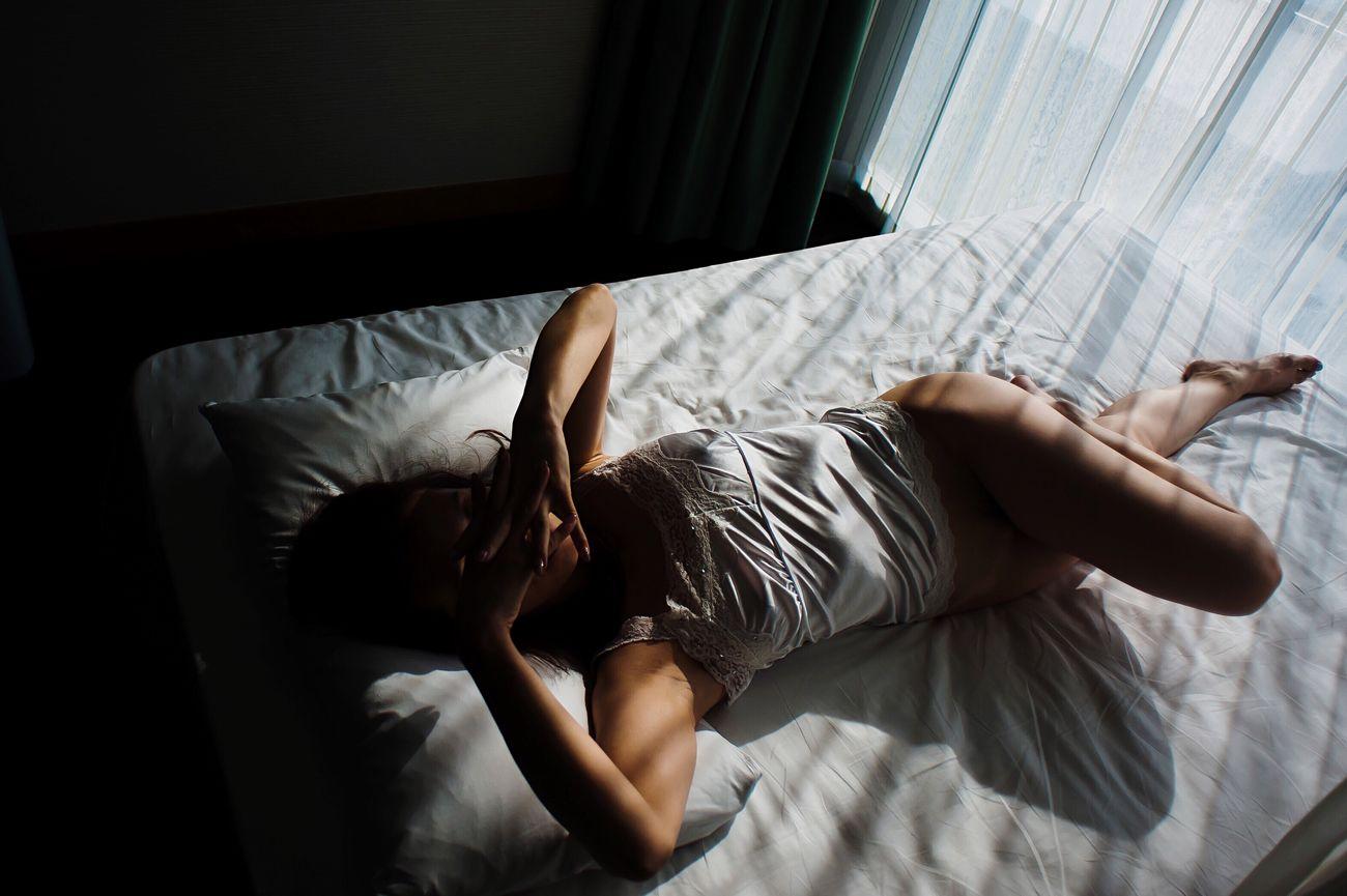 AWOI Light And Shadow Sunlight Bed Legs Curtain Shadow