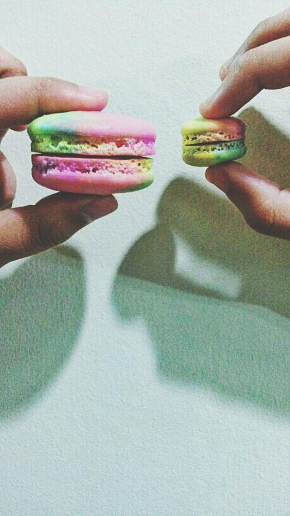 rainbowwww Macaron Frenchmacaron Rainbow Paddlepop