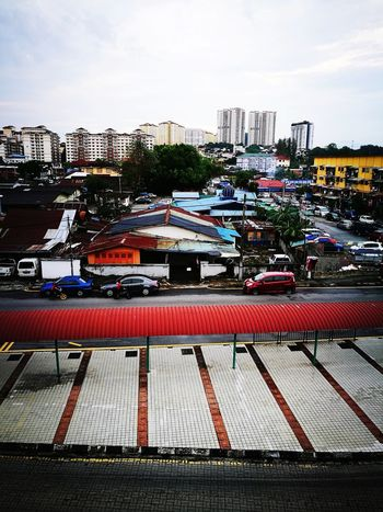 The view from Dato' Keramat lrt station