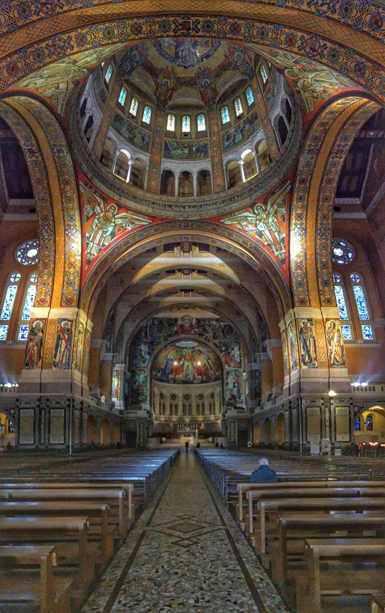 Saint Therese de Lisieux Cathedral Sainttherese Art Lisieux France Architecture Byzantine
