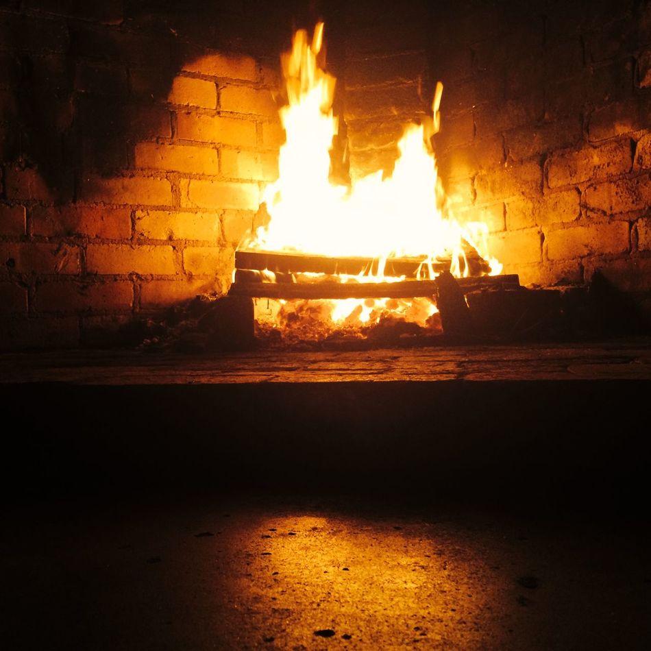 Beautiful stock photos of fireplace, Brick Wall, Burning, Fire - Natural Phenomenon, Fireplace