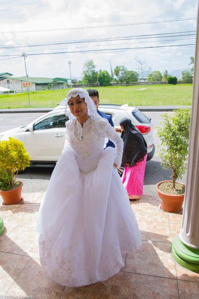 Wedding Dress Bride Celebration Wedding Life Events Muslimwedding Trinidad And Tobago Stillife Caribbean Beautiful Lifestyles