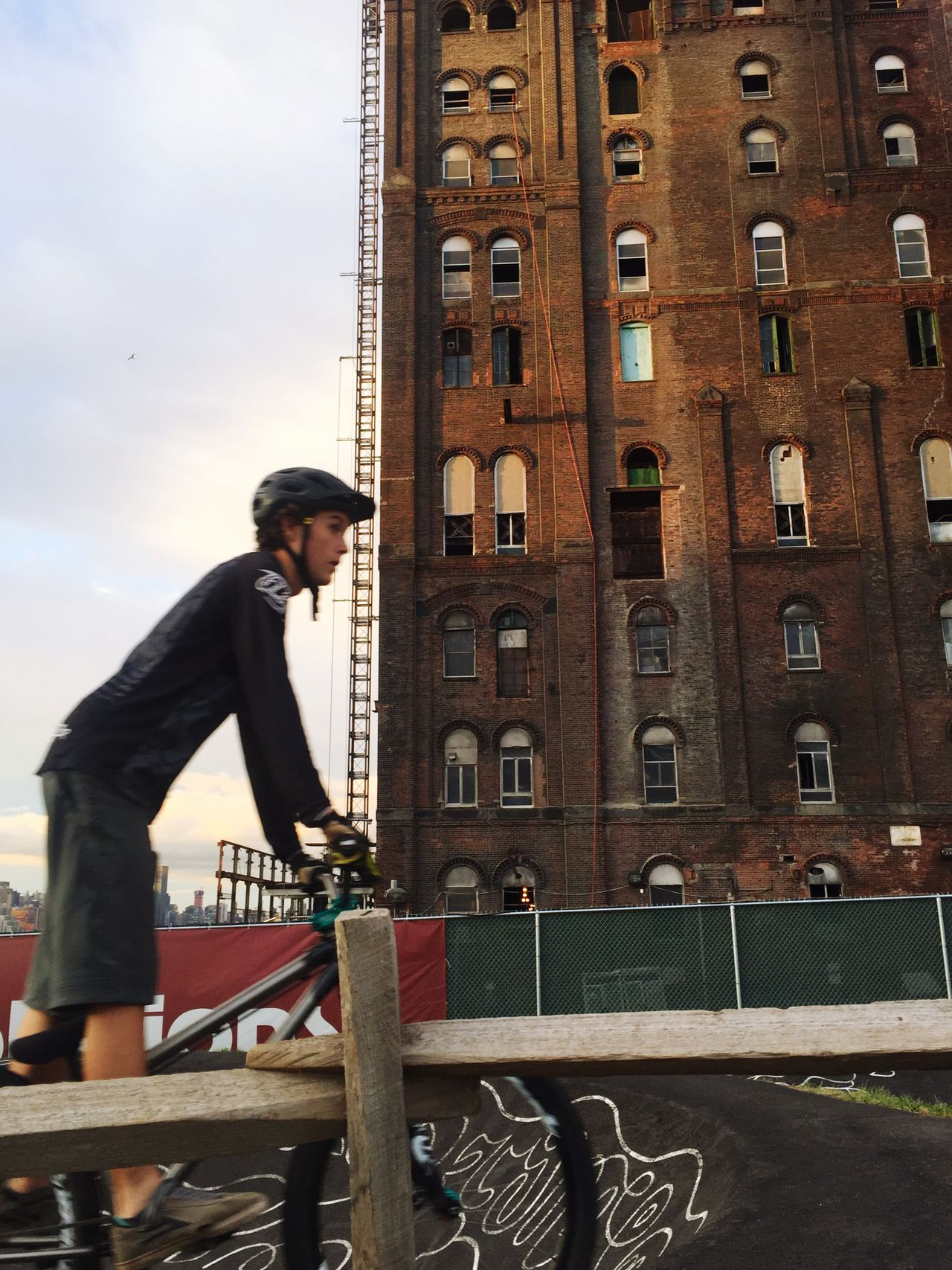 Bike Urban Outdoors Activity Contrast