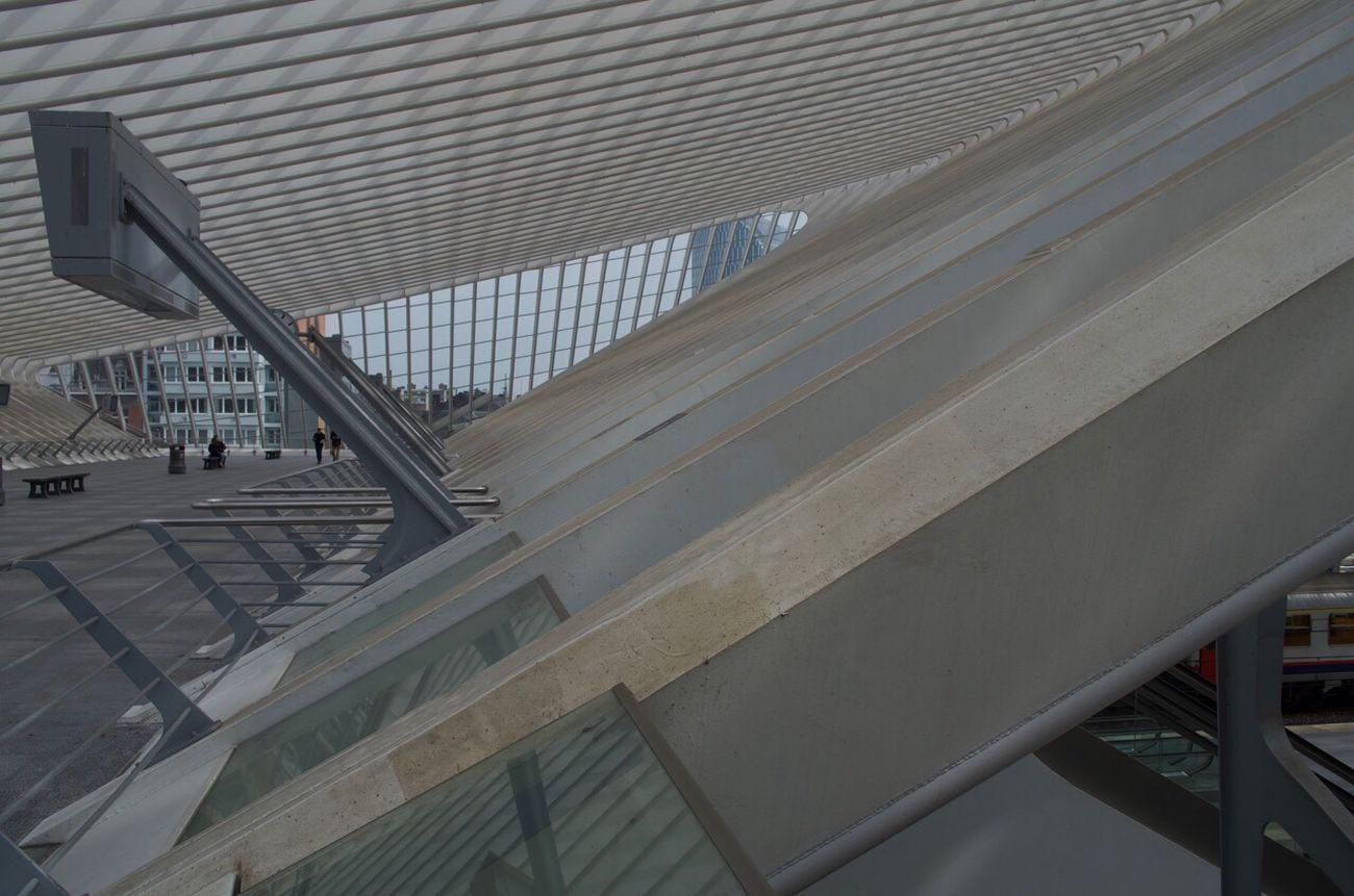 Où vont les Trains et quand partent-ils? Gare De Guillemins Liège-guillemins Liège Belgium Pentax