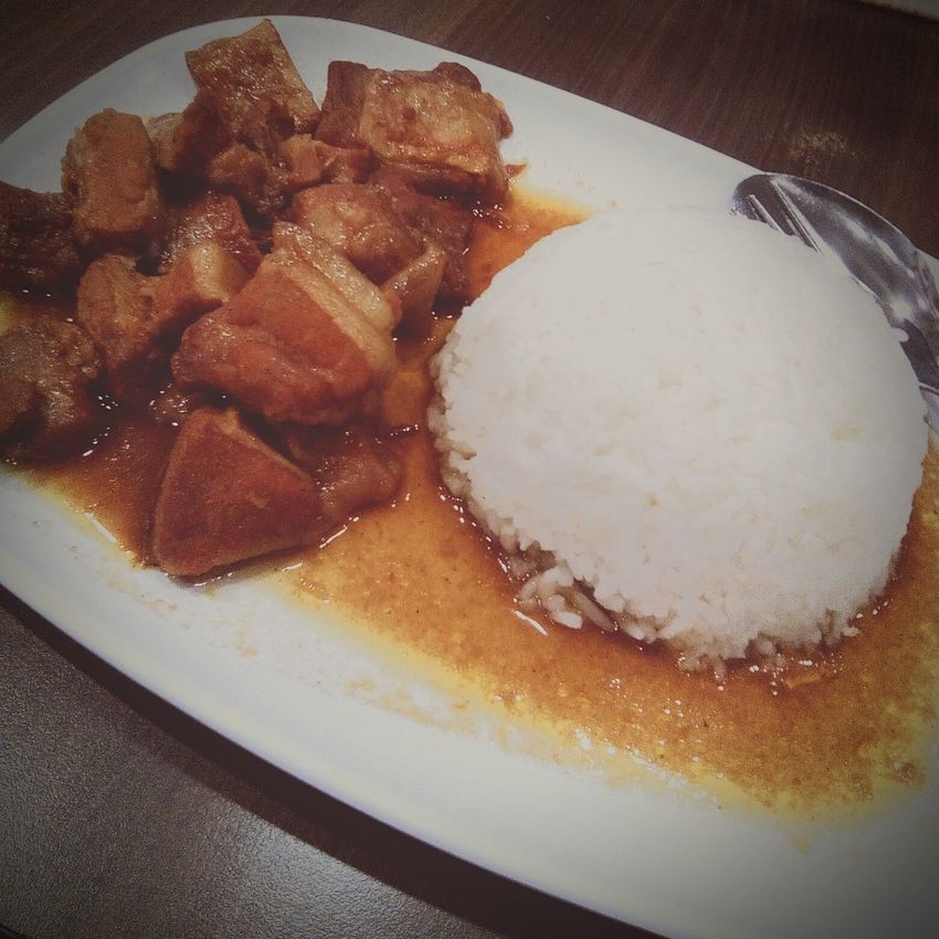 """""""ADOBO"""" - Filipino's cuisine, made with meat and best with a white rice. Food Indulgence Close-up Meal Adobo Philippines ❤️ Filipino Food"""