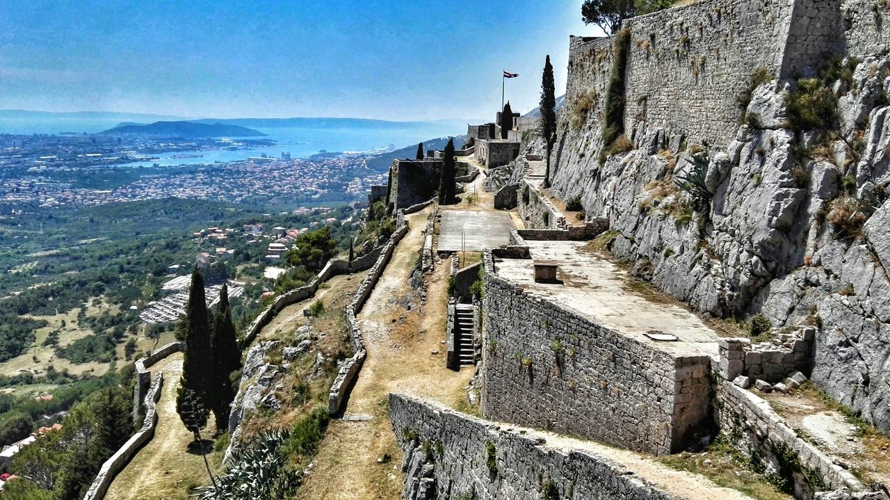 Klis Fortress Klis Croatia Fortress Game Of Thrones Landscape On The Way Dalmatia Sunny Day 🌞 Croatia ♡ The Essence Of Summer Relaxing Holidays In Croatia Vacation Time Split Holiday Gameofthrones Split Croatia Vacation Sea Mountains Summer 2016 Adriatic Sea Summer Sunny☀