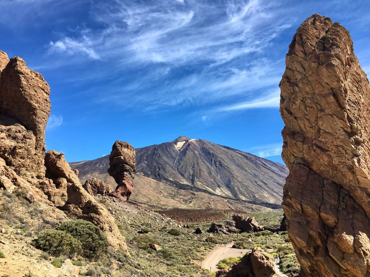 Teide National Park Geology Rock - Object Rock Formation Beauty In Nature Nature Physical Geography Tranquil Scene Scenics Sky Outdoors No People Landscape Mountain Arid Climate Travel Destinations Volcanic Landscape Teide National Park Teide Tenerife