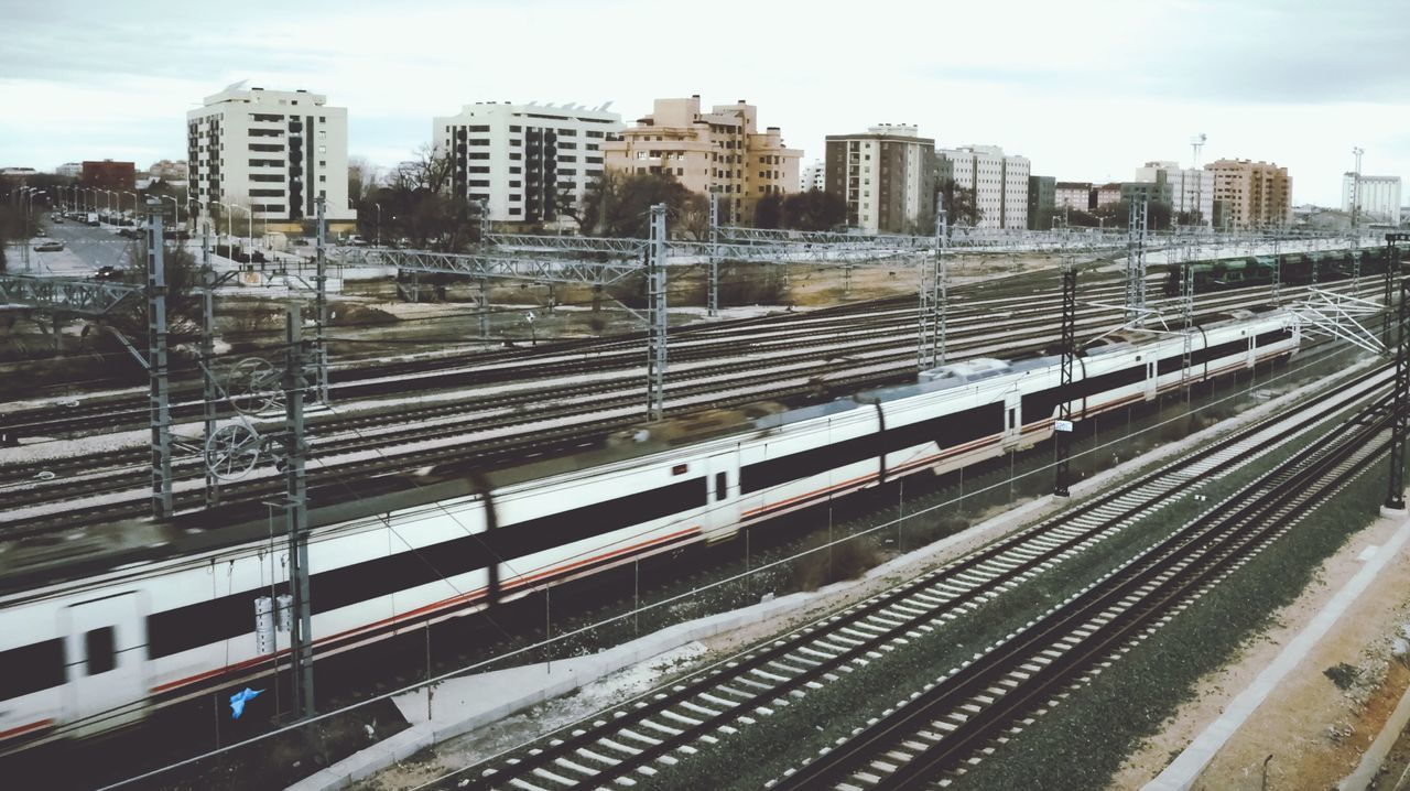 Beautiful stock photos of train, Albacete, Architecture, Blurred Motion, Building Exterior