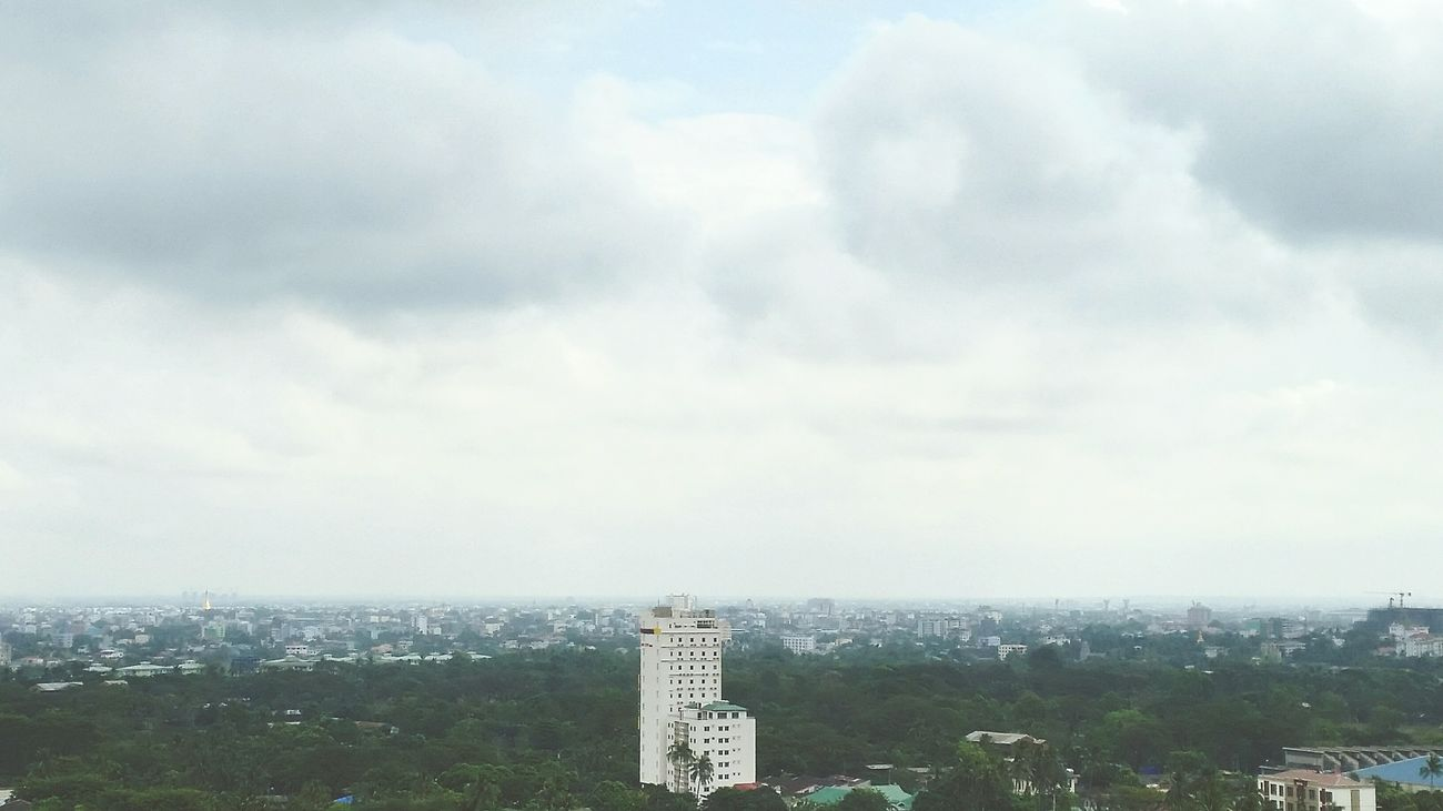 Hello World Yangon, Myanmar View Cold Days Rainy Days