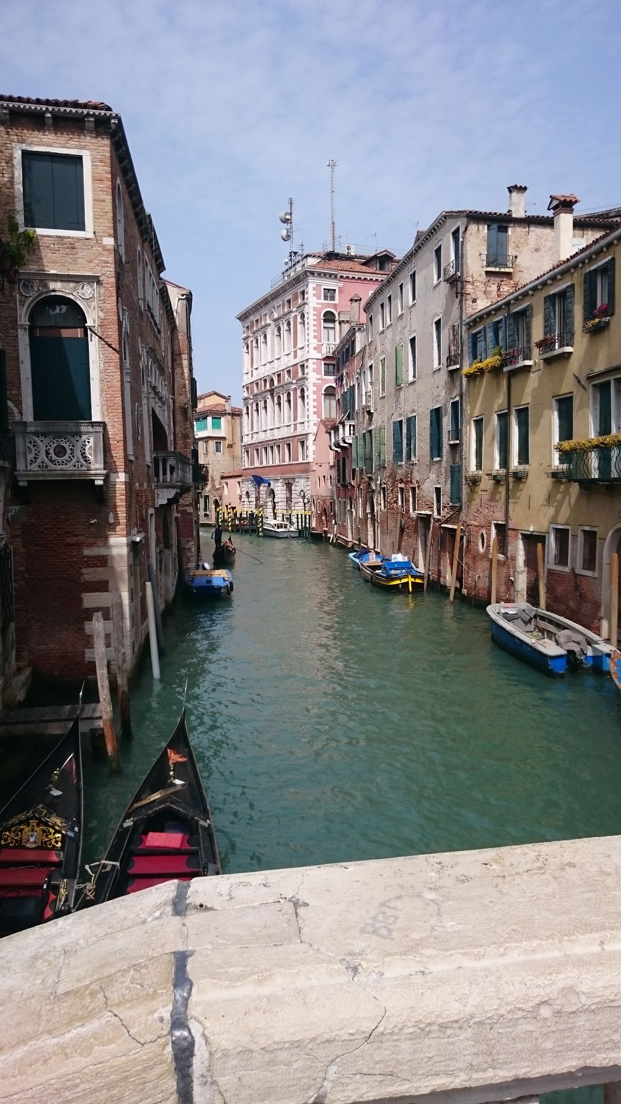 Venezia City Travel Destinations Building Exterior Architecture Water Outdoors City Break Sky Old-fashioned Cityscape Clock Face No People Medieval Day Gondola - Traditional Boat