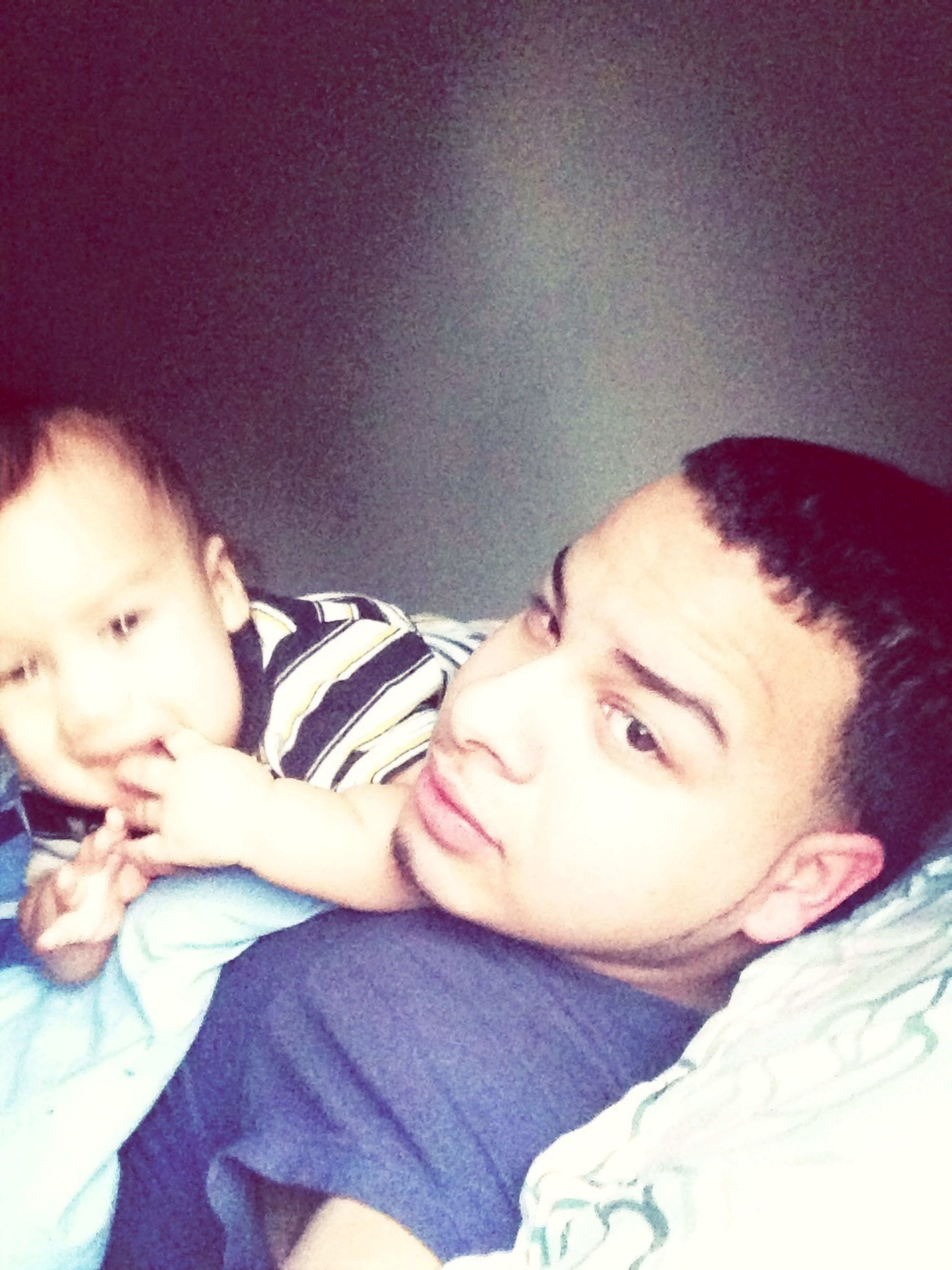 Coolin Father And Son
