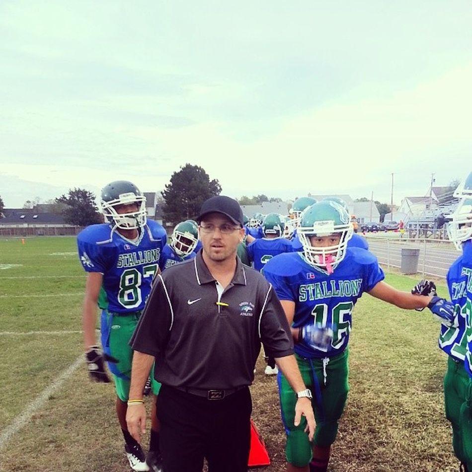 Im back am@ Green Run High School for my 2nd year, it'll be time to turn it up, cant wait till the season starts Football Greenrun Stallions School Teamwork 757 VABeach CoachJoe Sports