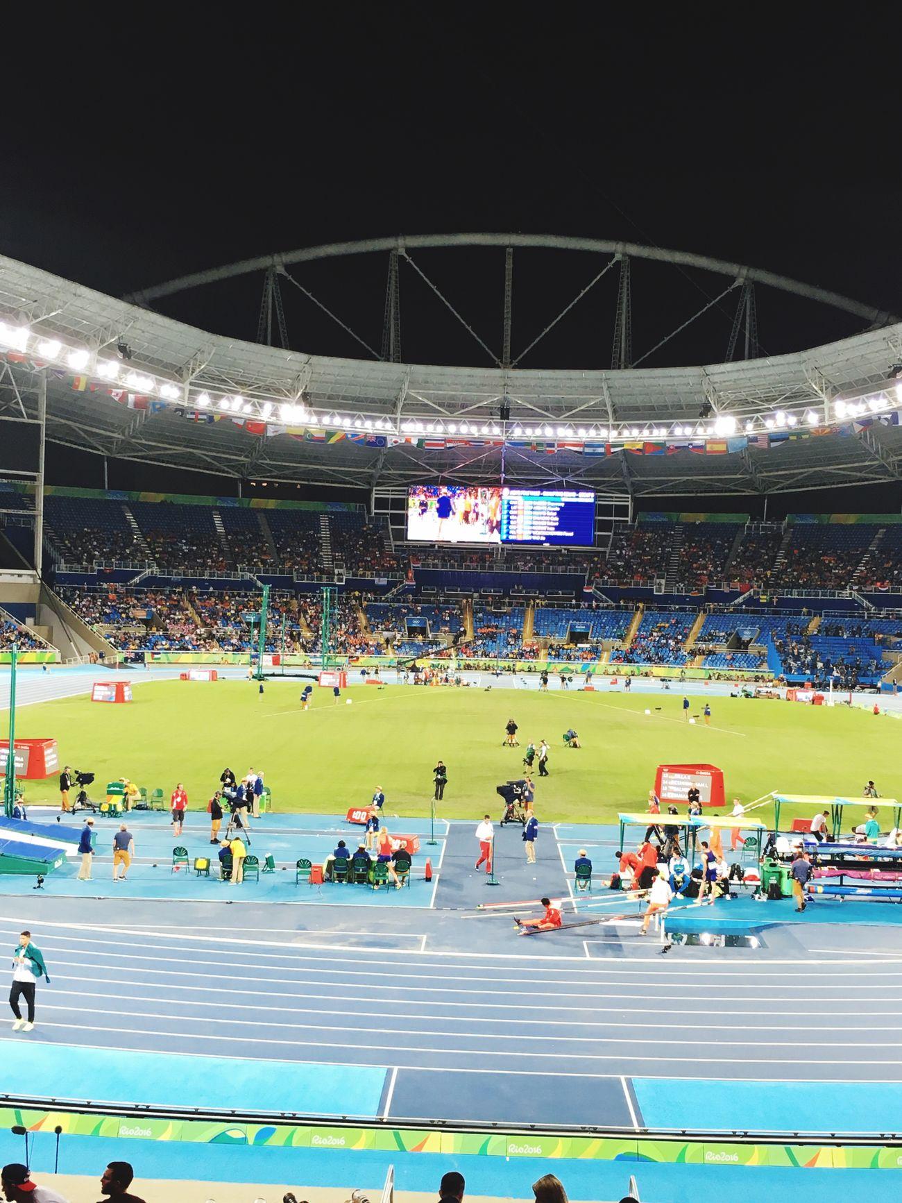 Estádio Olímpico Nilton Santos-Engenhão -Atletismo