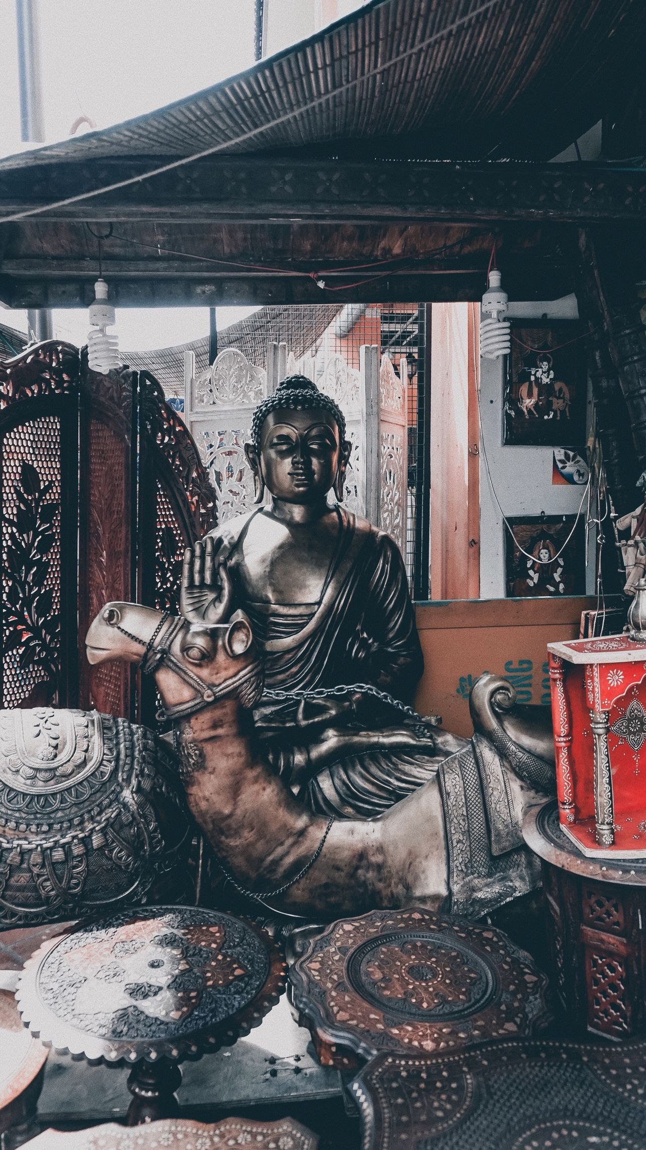 I will never forget this shop. I legit stayed here for like 20 minutes, drooling at the sculptures and figurines. The Chinese owner (yes I was surprised he's Chinese) was kind enough to let me take pictures Buddha Buddha Statue Singapore Travelling Travel Stories