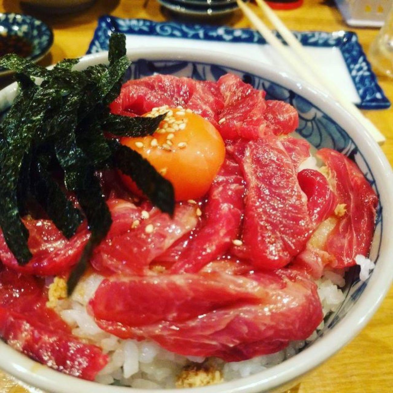 海鮮丼ランキング暫定一位 #ほほ肉 #マグロ #美味すぎて涙出た