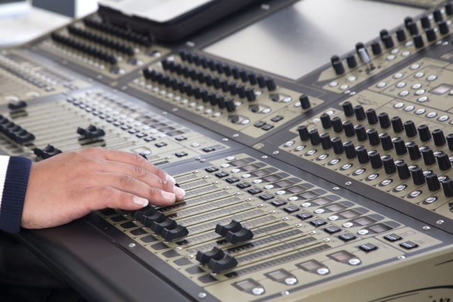 sound machine Adjusting Close-up Control Control Panel Day Electronics Industry Engineer Equipment Horizontal Human Body Part Indoors  Instrument Machine Mixing Music People Person Recording Studio Sound Sound Mixer Sound Recording Equipment Stereo Studio Technician Technology