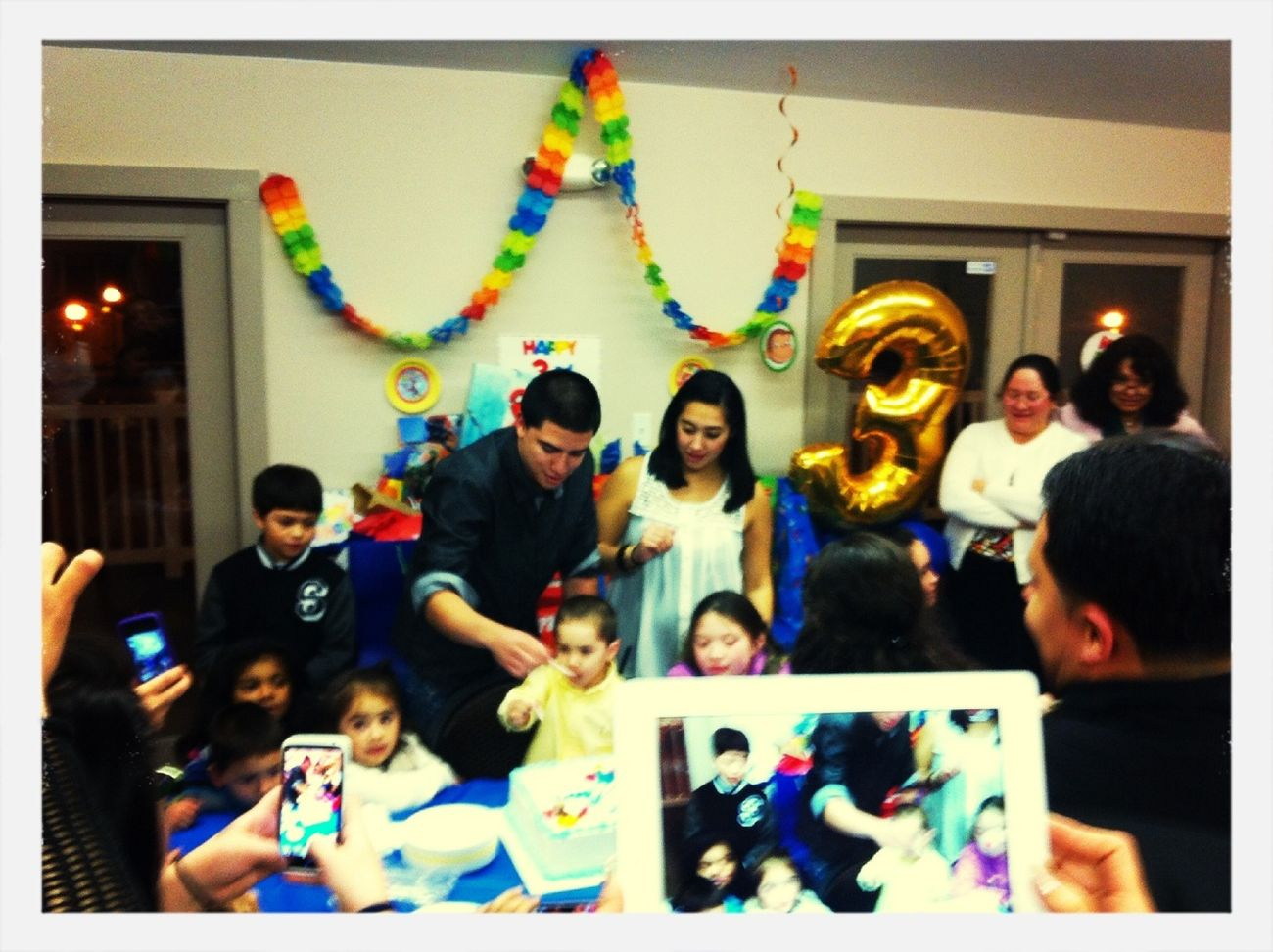At My Lil Cousin Birthday Party
