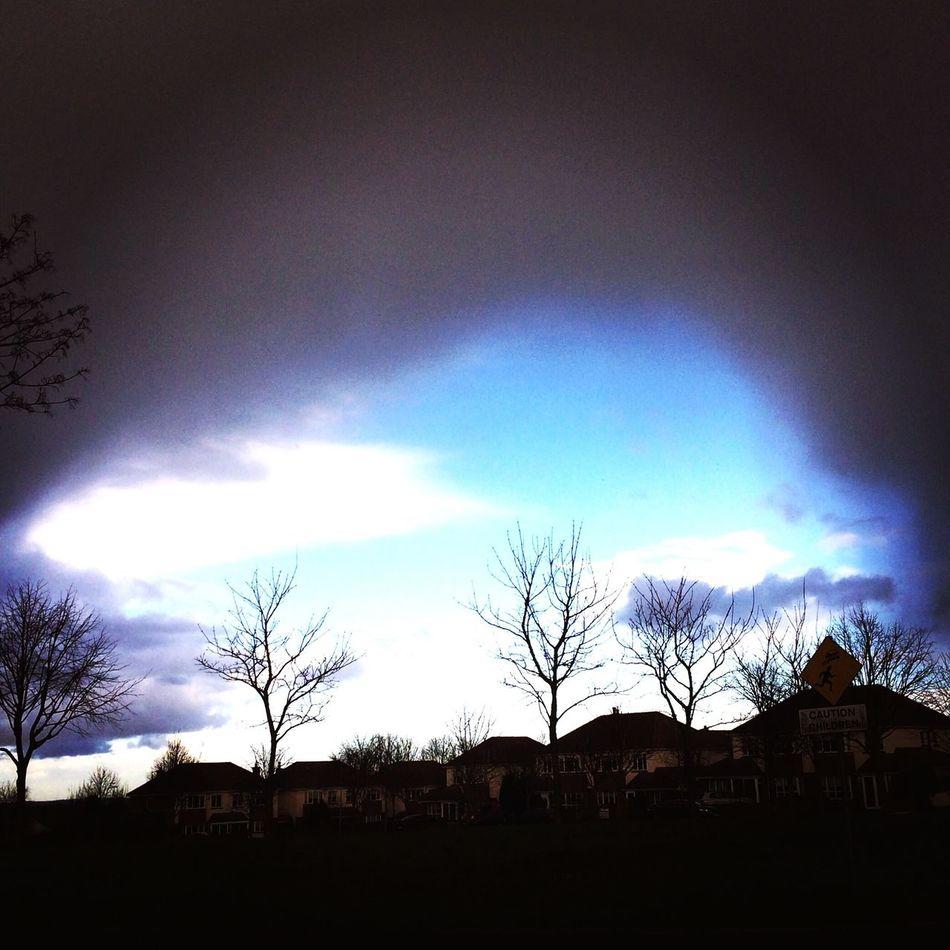 The rain enveloping the blue First Eyeem Photo