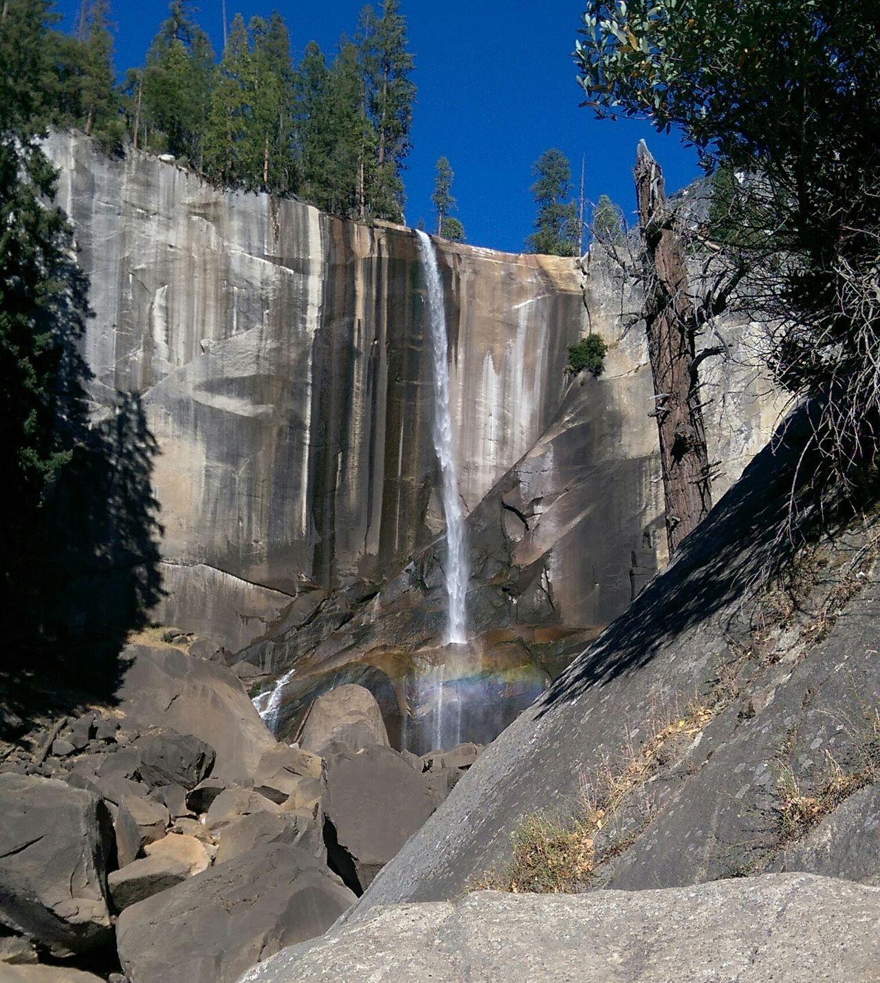 Vernal Fall hiking