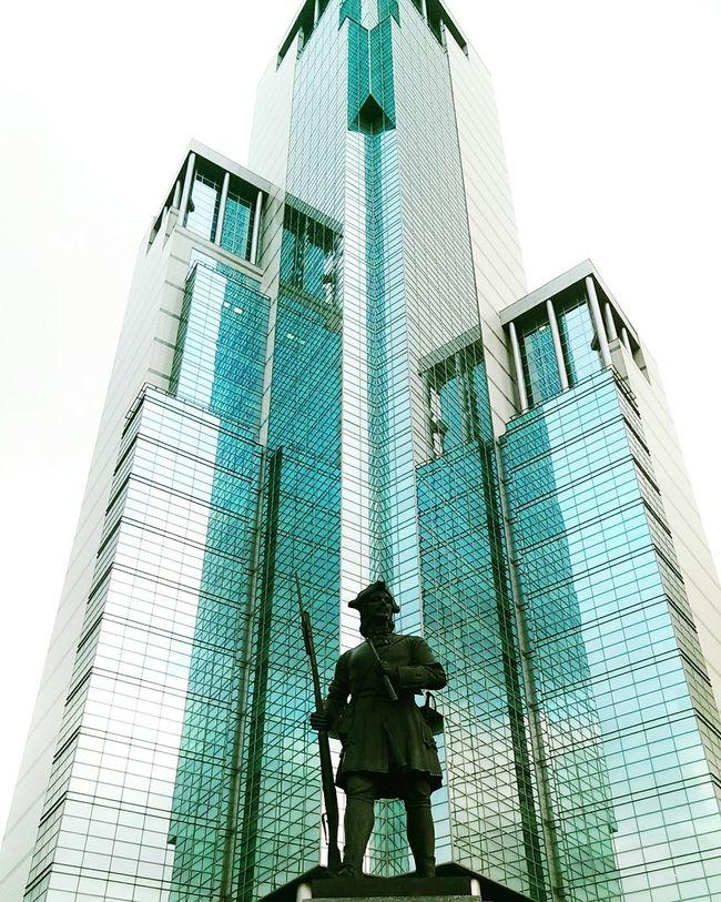 Tower City Urban Skyline People Sky First Eyeem Photo