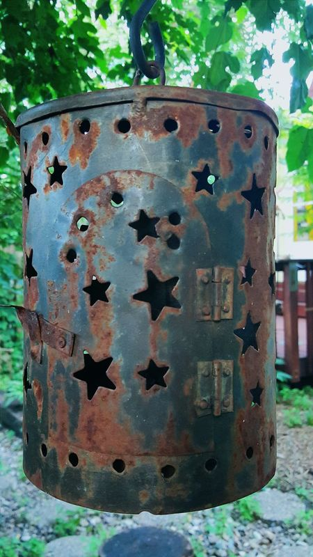 Garden Stars Rustedmetal Elemental Check This Out Hello World Gardengifts Found Object Urbanlandscape The View From My Window