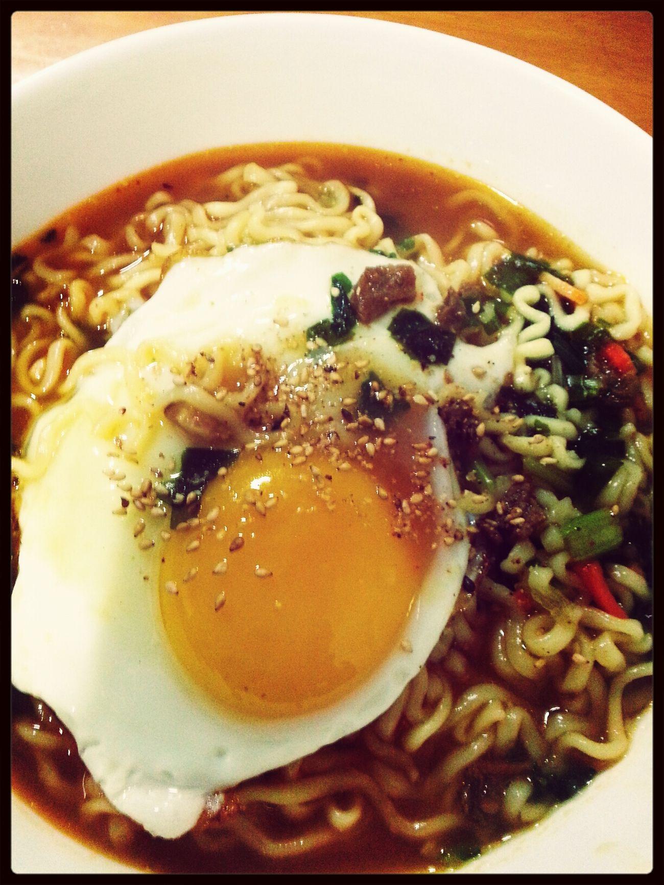 참라면~~! Eat This Ramen Noodle Delicious Food Enjoying Life